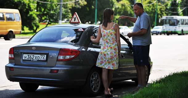 К Вашим услугам - вождение в городе с опытным, внимательным инструктором