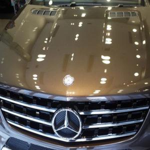 покрытие авто жидким стеклом в Тюмени